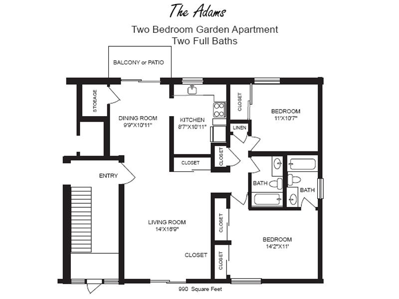 Greenmont apartments kettering ohio 28 images buren for The villages gardenia floor plan